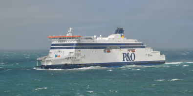 P&O Ferries overtocht schip